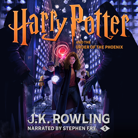 Hörbuch Harry Potter and the Order of the Phoenix  - Autor J.K. Rowling   - gelesen von Stephen Fry