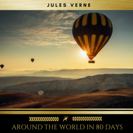 Hörbuch Around the World in 80 Days  - Autor Jules Verne   - gelesen von Eoin Joyce