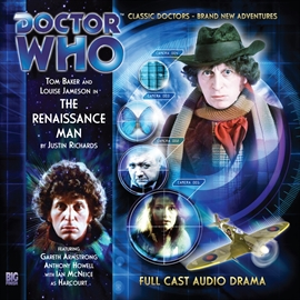 Hörbuch The 4th Doctor Adventures, Series 1.2: The Renaissance Man  - Autor Justin Richards   - gelesen von Schauspielergruppe