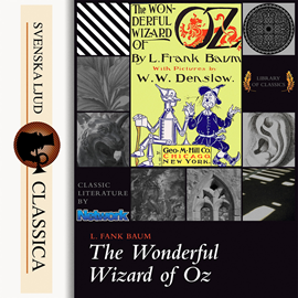 Hörbuch The Wonderful Wizard of Oz  - Autor L. Frank Baum   - gelesen von Phil Chenevert