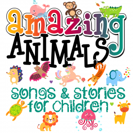 Hörbuch Amazing Animals! Songs & Stories for Children  - Autor Mike Bennett   - gelesen von Schauspielergruppe