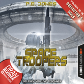 Hörbuch Space Troopers - Collector's Pack (Space Troopers 13-18)  - Autor P. E. Jones   - gelesen von Uve Teschner