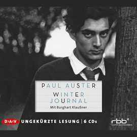 Hörbuch Winter Journal  - Autor Paul Auster   - gelesen von Burghart Klaußner