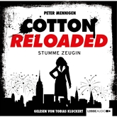 Hörbuch Stumme Zeugin (Cotton Reloaded 27)  - Autor Peter Mennigen   - gelesen von Tobias Kluckert