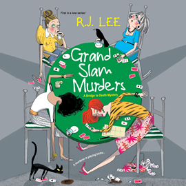 Hörbuch Grand Slam Murders (A Bridge to Death Mystery 1)  - Autor R.J. Lee   - gelesen von Cici Dee