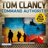Hörbuch Command Authority  - Autor Tom Clancy   - gelesen von Frank Arnold
