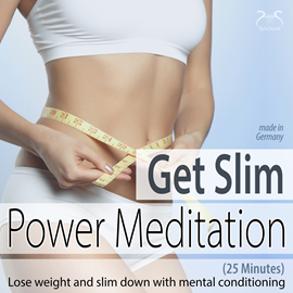 Hörbuch Get Slim Power Meditation: Lose Weight and Slim Down with Mental Conditioning (25 Minutes)  - Autor Colin Griffiths-Brown;Torsten Abrolat   - gelesen von Schauspielergruppe