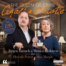 Hörbuch The Queen of Crime - Agatha Christie  - Autor Traudl Bünger;LIT.COLOGNE   - gelesen von Schauspielergruppe
