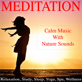Hörbuch Mediation with Calm Music for Relaxation, Study, Sleep, Yoga, Spa, Wellness  - Autor Various Artists   - gelesen von Various Artists
