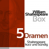 William Shakespeare: 5 Dramen