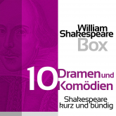 William Shakespeare Box: Zehn Dramen und Komödien