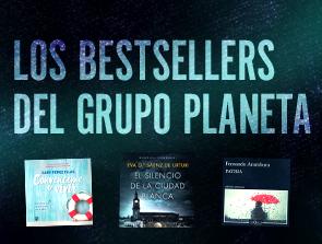 Bestsellers del Grupo Planeta