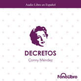 Audiolibro Decretos  - autor Conny Mendez   - Lee Isabel Varas