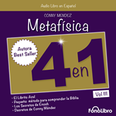 Audiolibro Metafisica 4 en 1 Vol III  - autor Conny Mendez   - Lee Isabel Varas