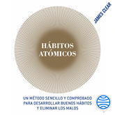 Audiolibro Hábitos atómicos  - autor James Clear   - Lee Arturo Guerrero