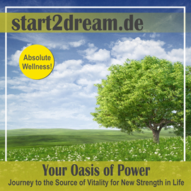 "Audiolibro Guided Meditation ""Oasis of Power""  - autor Nils Klippstein;Frank Hoese   - Lee Allen Logue"