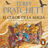 Audiolibro El Color de la Magia (Mundodisco 1)  - autor Terry Pratchett   - Lee Raúl Llorens