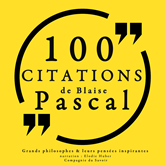 100 citations de Blaise Pascal