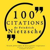 100 citations de Friedrich Nietzsche
