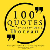 100 quotes by Henry David Thoreau