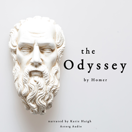 Livre audio The Odyssey  - auteur Homer   - lu par Katie Haigh