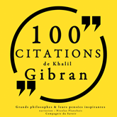 100 citations de Khalil Gibran