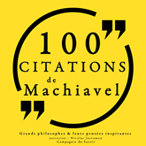 100 citations de Machiavel