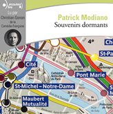 Livre audio Souvenirs dormants  - auteur Patrick Modiano   - lu par Christian Gonon