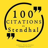 100 citations de Stendhal