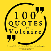 100 quotes by Voltaire