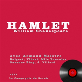 Livre audio Hamlet  - auteur William Shakespeare   - lu par Aman Maitre