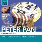 Audiolibro Peter Pan  - autore James  Barrie   - legge Alessio Boni