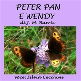 Audiolibro Peter Pan e Wendy  - autore James Matthew Barrie   - legge Silvia Cecchini