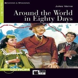 Audiobook Around the World in Eighty Days  - autor CIDEB EDITRICE