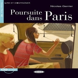 Audiobook Poursuite dans Paris  - autor Nicolas Gerrier