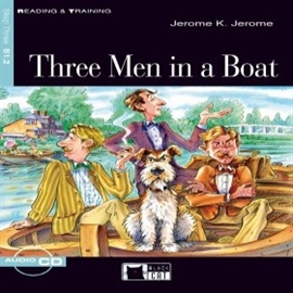 Audiobook Three Men in a Boat  - autor CIDEB EDITRICE