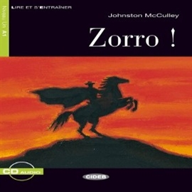 Audiobook Zorro!  - autor Johnston McCulley