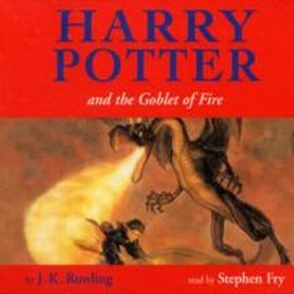 Audiobook Harry Potter and the Goblet of Fire  - autor Joanne Kathleen Rowling   - czyta Stephen Fry