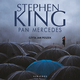 Audiobook Pan Mercedes  - autor Stephen King   - czyta Jan Peszek