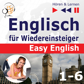 Audiokniha Easy English 1-6  - autor Dorota Guzik   - interpret skupina hercov