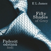 Audiokniha Fifty Shades of Grey - Padesát odstínů šedi  - autor E L James   - interpret Tereza Bebarová