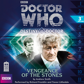 Sesli kitap Destiny of the Doctor, Series 1.3: Vengeance of the Stones  - yazar Andrew Smith   - seslendiren seslendirmenler topluluğu