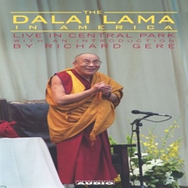 Sesli kitap The Dalai Lama in America: Central Park Lecture  - yazar His Holiness the Dalai Lama   - seslendiren His Holiness the Dalai Lama