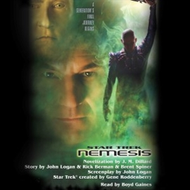 Sesli kitap Star Trek: Nemesis Movie-tie In  - yazar J.M. Dillard   - seslendiren Boyd Gaines