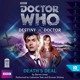 Sesli kitap Destiny of the Doctor, Series 1.10: Death's Deal  - yazar Darren Jones   - seslendiren seslendirmenler topluluğu