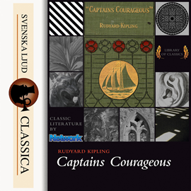 Sesli kitap Captain Courageous  - yazar Rudyard Kipling   - seslendiren Mark F Smith