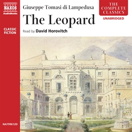 Audiobook The Leopard  - author Giuseppe Tomasi di Lampedusa   - read by David Horovitch