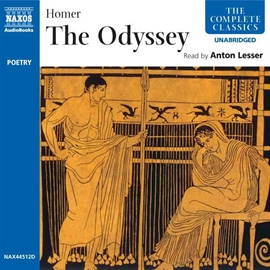 Audiobook The Odyssey  - author Homer   - read by Anton Lesser