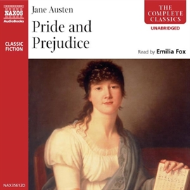 Audiobook Pride and Prejudice  - author Jane Austen   - read by Emilia Fox