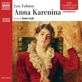 Audiobook Anna Karenina  - author Leo Tolstoy   - read by Kate Lock